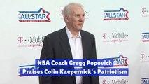 NBA Coaching Legend Defends Colin Kaepernick