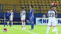 Highlights | U18 Philippines vs U18 Brunei | Không nhận thẻ đỏ vẫn chơi thiếu người