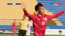 U18 Lào ''hạ'' Timor Leste 4 bàn không gỡ: Trận đấu vì danh dự | VFF Channel