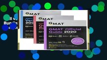Full version  GMAT Official Guide 2020 Bundle: 3 Books + Online Question Bank Complete