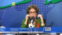 Consuelo Despradel comenta paro de 48 horas en Moscoso Puello porque 3 médicos residentes reprobaron