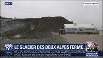 Pour la première fois depuis l'ouverture de la station, le glacier des deux alpes est fermé
