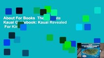 About For Books  The Ultimate Kauai Guidebook: Kauai Revealed  For Kindle