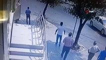 Kaza anı kamerada: Bahçelievler'de ehliyetsiz sürücü dehşet saçtı