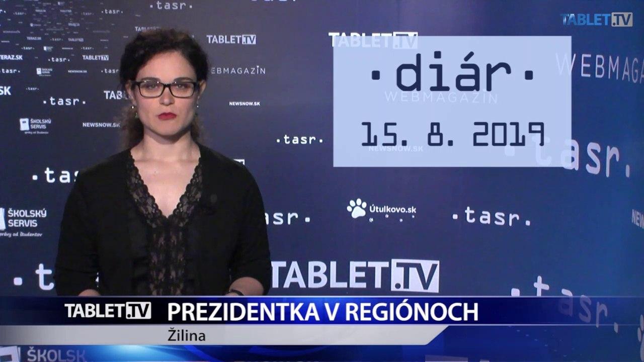 DIÁR: Prezidentka Z. Čaputová na návšteve Žiliny a okolia