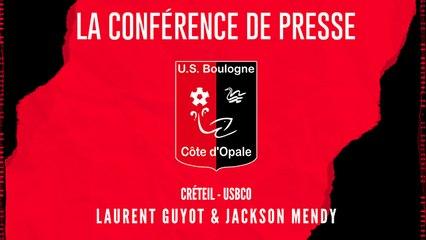 [NATIONAL] J3 Conférence de presse avant match USBCO - Créteil