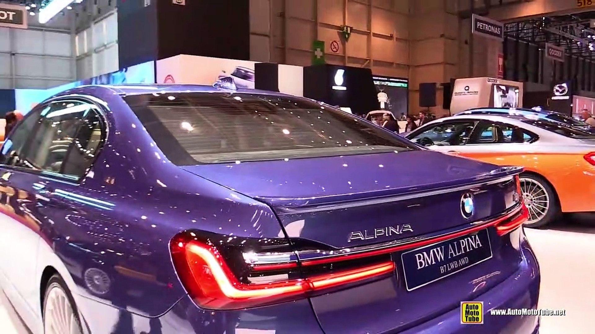 2020 Bmw Alpina B7 Lwb Awd Exterior And Interior Walkaround Debut At 2019 Geneva Motor Show