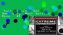 Full version  Extreme Ownership  Best Sellers Rank : #5