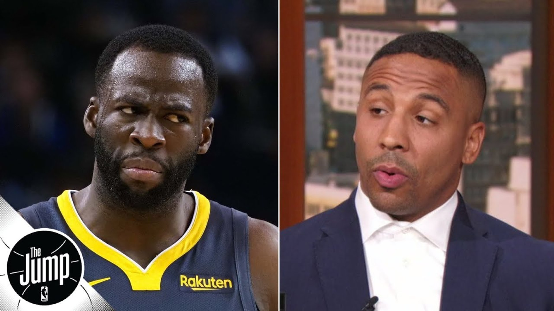 Boxer and Warriors fan Andre Ward reacts to Draymond Green's exclusive interview _ The Jump