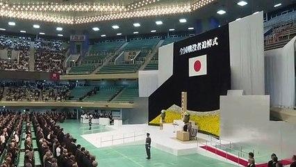 """امبراطور اليابان الجديد يعبر عن """"ندم عميق"""" لممارسات بلاده خلال الحرب"""