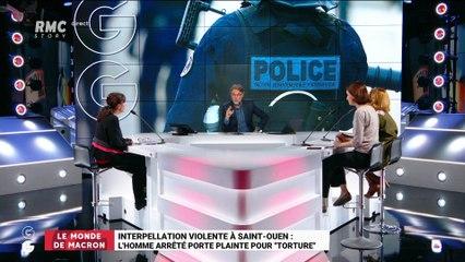 """Le monde de Macron: Interpellation violente à Saint-Ouen, l'homme arrêté porte plainte pour """"torture"""" - 15/08"""