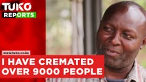 I have  cremated over 9,000 people.