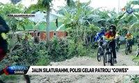 "Jalin Silaturahmi, Polisi Gelar Patroli ""Gowes"""