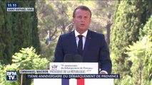 Emmanuel Macron appelle les maires de France a nommer des rues au nom des soldats africains