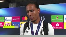 (Subtitled) Virgil van Dijk talks after Liverpool Super Cup win