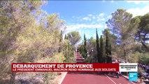 Discours d'Emmanuel Macron à l'occasion des 75 ans du débarquement de Provence