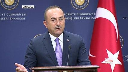 """Bakan Çavuşoğlu: """"Fırat'ın Doğusu Terör Yuvası Oldu"""""""
