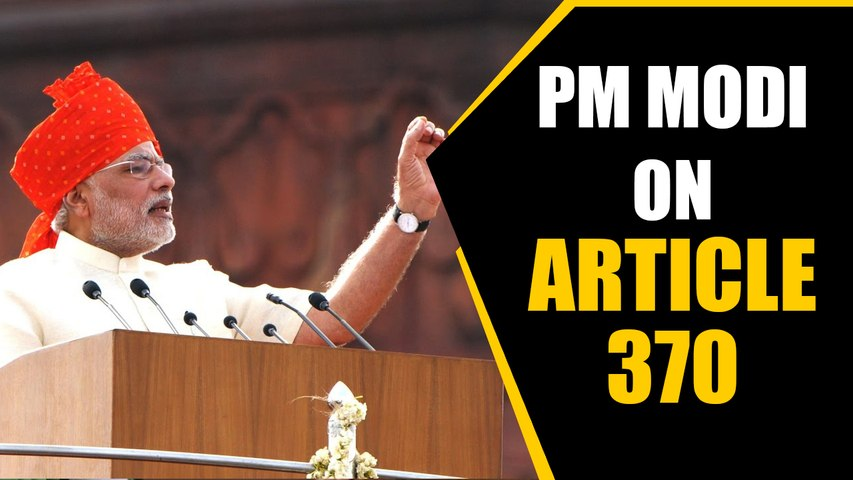 PM slams previous governments for inaction on Article 370 | Oneindia News