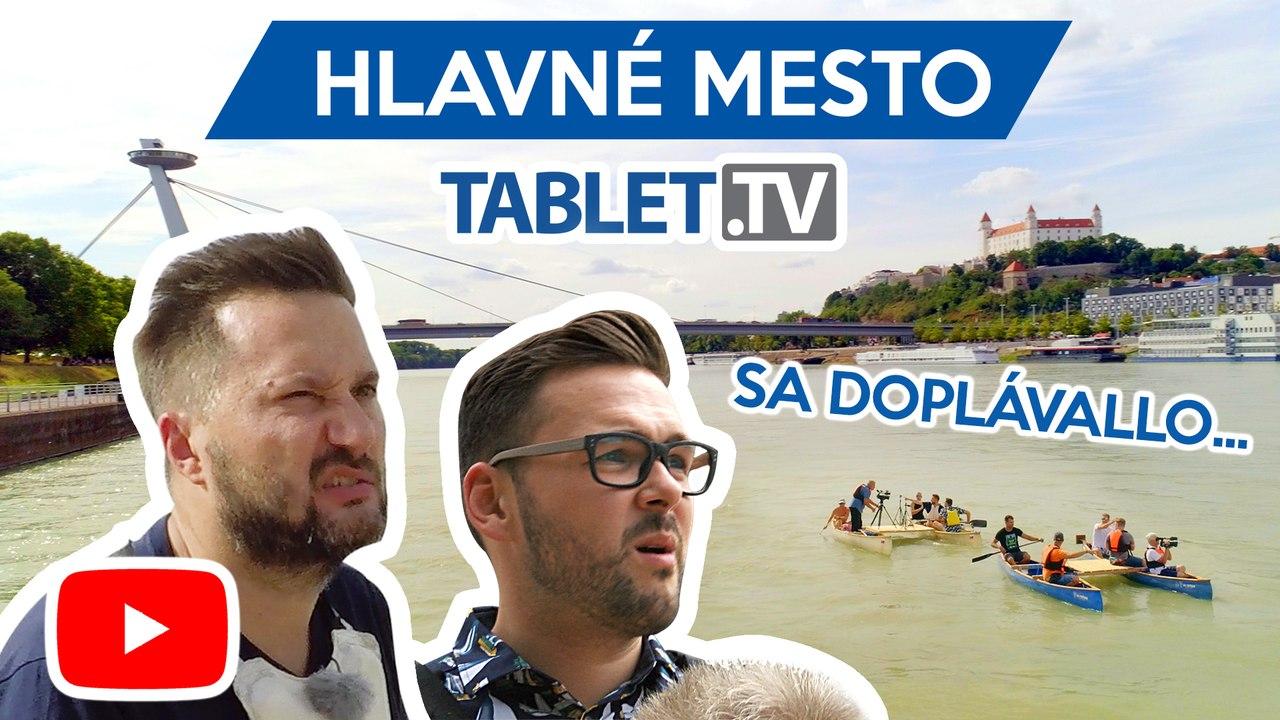 HLAVNÉ MESTO: Bratislavský primátor Matúš Vallo skočil do Dunaja