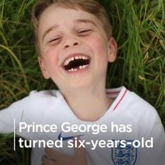 Prince George turns six