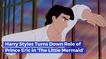 Harry Styles Will Not Be Prince Eric