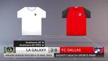 Match Review: LA Galaxy vs FC Dallas on 15/08/2019
