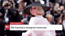 Elle Fanning Doesn't Fall For Instagram Tricks