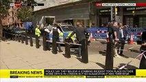 Londres: Un homme  grièvement blessé après avoir été poignardé devant le ministère de l'Intérieur dans des circonstances non précisées dans l'immédiat