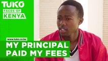 The principal paid all my school fees- Paul Wambua