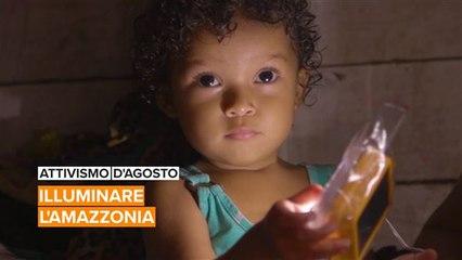 Attivismo d'agosto: Eugenio ha trovato come illuminare l'Amazzonia