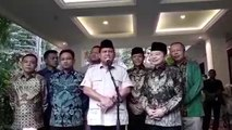 Ketemu Plt Ketum PPP, Prabowo Akui Banyak Kesamaan