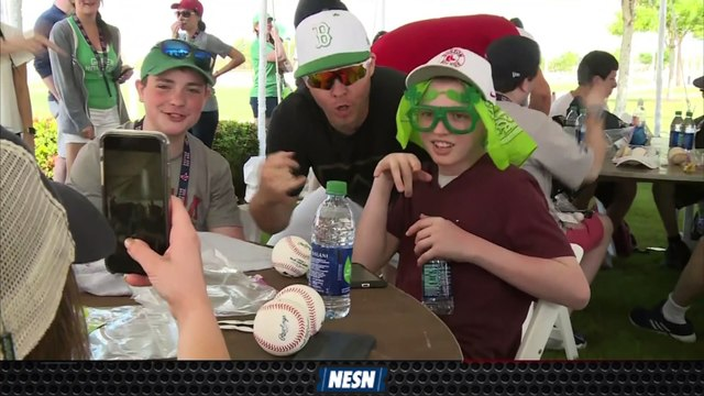 Jimmy Fund Feature: Boston Red Sox spring training