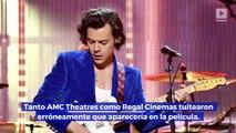 """Harry Styles rechaza el papel del Príncipe Eric en """"La Sirenita"""""""