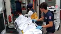 Samsun'da 5. kattan düşen 2.5 yaşındaki çocuk ağır yaralandı