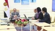 السيسى يجتمع بمدبولي لبحث سبل التغلب على معوقات المستثمرين.. فيديو