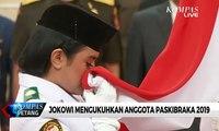 Jokowi Mengukuhkan Anggota Paskibraka 2019