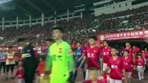 Guangzhou Evergrande held to 1-1 draw at home against Chongqing