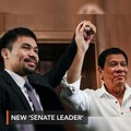 Pacquiao appointed as PDP-Laban 'Senate leader'