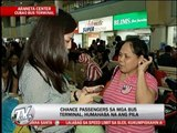 Chance passengers flock to Araneta bus station