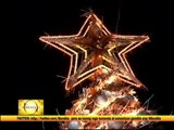 Largest floating Christmas tree lit up in Brazil