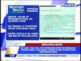 Typhoon 'Pedring' makes landfall; expected to weaken