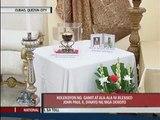 Devotees flock to see rare relics of John Paul II