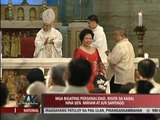 Marc Logan reports: Scene stealers at Miriam's vow renewal