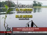 La Mesa Dam nears overflowing due to rain