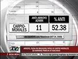 GMA opposes Carpio-Morales bid