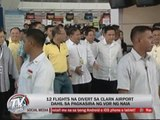 12 NAIA flights diverted to Clark