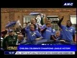 Chelsea celebrate Champions League victory