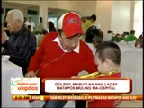 Dolphy in better condition after hospitalization