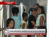 Tondo fire victims crowd evacuation center