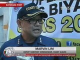 Security tightened at Batangas port